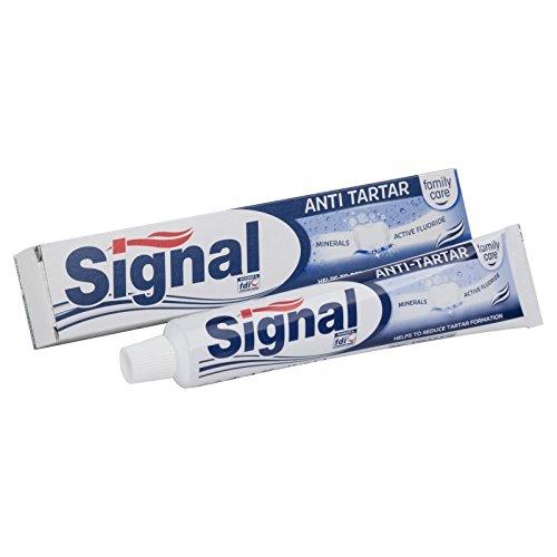 خمیر دندان بزرگ سیگنال  آنتی باکتریال و سفید کننده وضد جرم دندان